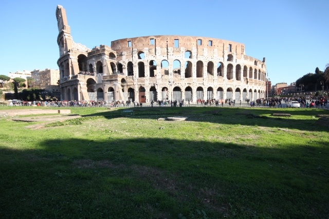 Rome, Coloseum, Gladiators