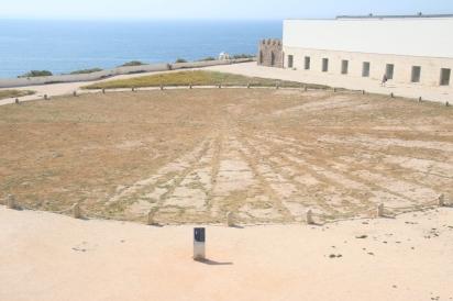 Solar clock at the fortress