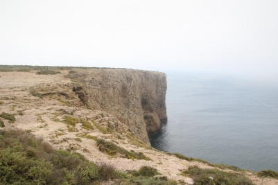 The view at Cape St. Vincent