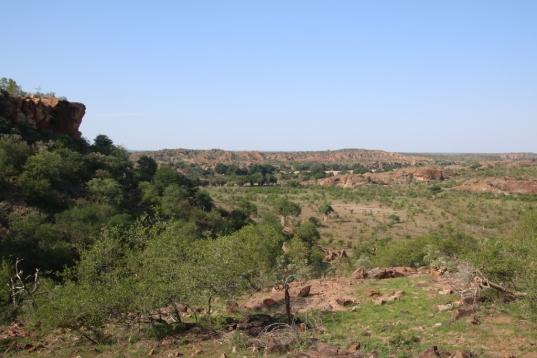 The view of Zimbabwe