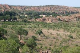 The view of Botswana