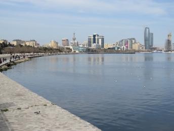 Baku harbour