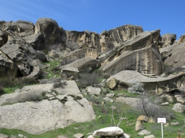 Gobustan Mountain