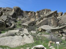 Gobustan Mountain