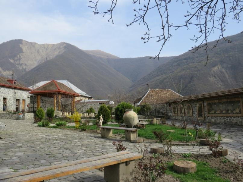 The Garden in the Albanian Church
