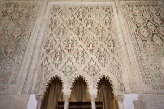 Decoration in the prayer hall