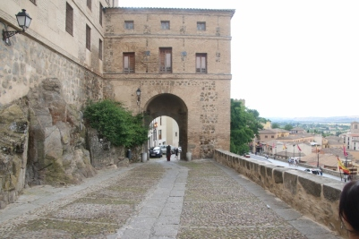 Gate to upper part of old town
