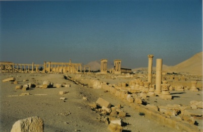 View of the ancient city