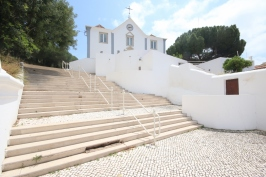 Steps up to the big church