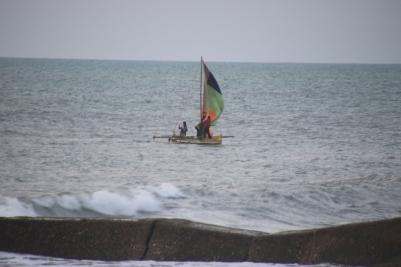 Boat at Morondava
