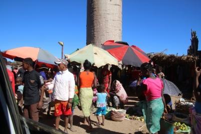 Locals at kirindy village