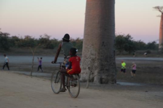 Bike at the avenue
