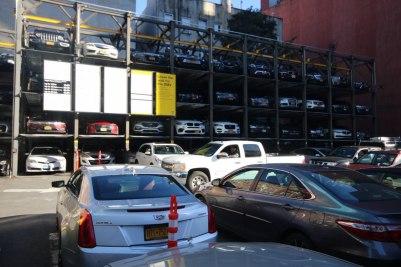 Parking lot on Manhattan