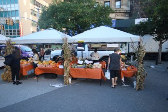 Market stalls at Union Square