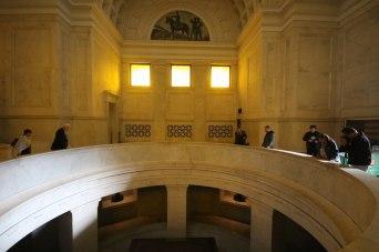The hall inside