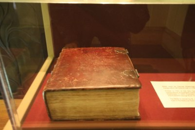 Old bible used at innagruations