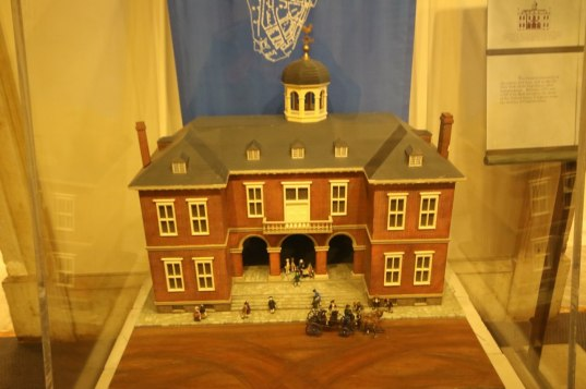 Model of the former building