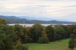 View of the river from Vanderbilt Mansion